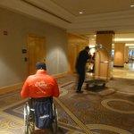 Lobby... hotel cómo y accesible