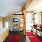 Badezimmer Panorama Suite