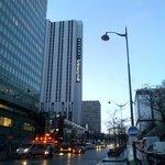 veduta Albergo da Rue Mouchotte, all'angolo della metro Gaité