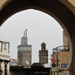 Arch with minarets