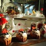 Muffins de frutos rojos!