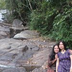 Near the water fall