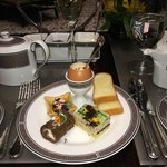 First Course of Afternoon Tea