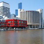 Crowne Plaza looking over the Yarra River