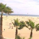 Panoramica delle spiaggia