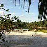 Sol à beira rio