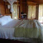 Mosquito net over bed (I never used it)