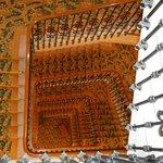 Les escaliers du Carlton