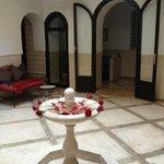 Patio du Riad salle de détente