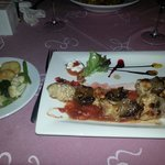 Steak and chicken skewers- perfect and reasonably priced!