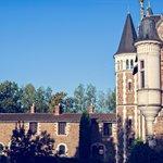 Vue de la cour intérieure du chateau