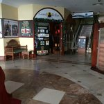 dingy lobby