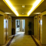 Towards the Executive Lounge at the DoubleTree