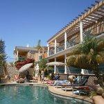 Swimming pool - balconies