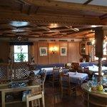 Sala colazioni e cene