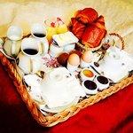 colazione in camera!!