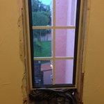 Baumaßnahmen im Treppenhaus