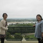 Overlooking the Loire river at Gratien and Meyer champagne house in Saumur