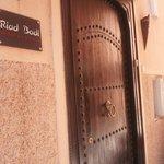 Riad front door