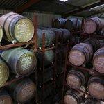 Dingle Distillery barrels