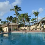 Pool at Manchebo beach resort