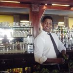 One of the friendly and helpful bar staff