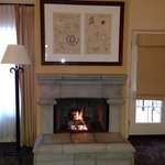 Casita fireplace