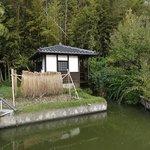 資料館前の水車小屋