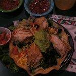 Chicken Enchilada - big chunks of chicken!