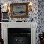 Room 11 fireplace