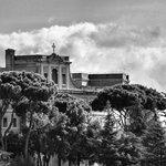 Pontificio Collegio Urbano, as seen from the room