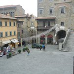 The square in Cortona