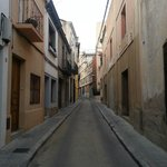 Carrer Santissima Trinitat (hotel street)