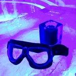 drinks served in iceglasses #ICEBAR