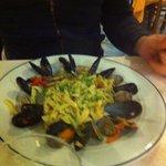 Seafood pastas