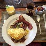 a great breakfast, soooo good!