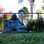Cool Buddha - this was right outside my patio door.  This area was so beautiful.