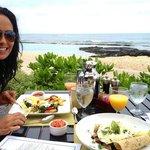 breakfast at Hualalai