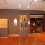 The first floor exibition