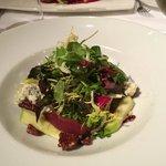 mixed chicory salad