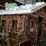 2012 Xmas Grotto made from gingerbread, this years was even better