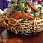 Bird's Nest/Deep Fried Yellow Noodles
