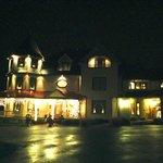 Lights at night around the holidays