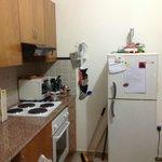 Холодильник, плита