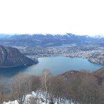 Lugano e monte San Salvatore