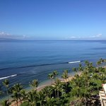 View from Lahaina Tower, 12th floor