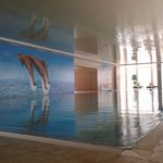 The indoor pool.  There is also an outdoor pool and sauna.