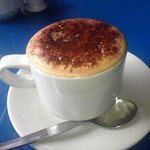 Cappuccino at the Coffee Tree