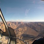 Flying to the Skybridge at the Grand Canyon
