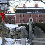 The Historic Inn, decorated for Winter and the Holiday Season.